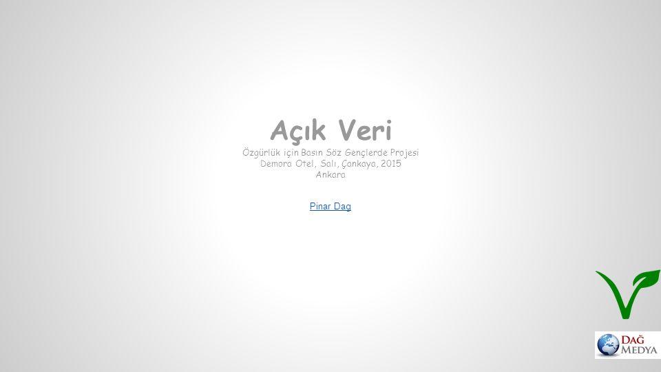 Açık Veri Özgürlük için Basın Söz Gençlerde Projesi Demora Otel, Salı, Çankaya, 2015 Ankara Pinar Dag