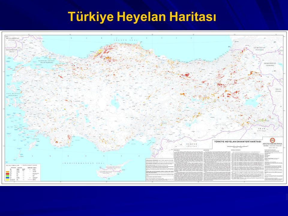 Türkiye Heyelan Haritası