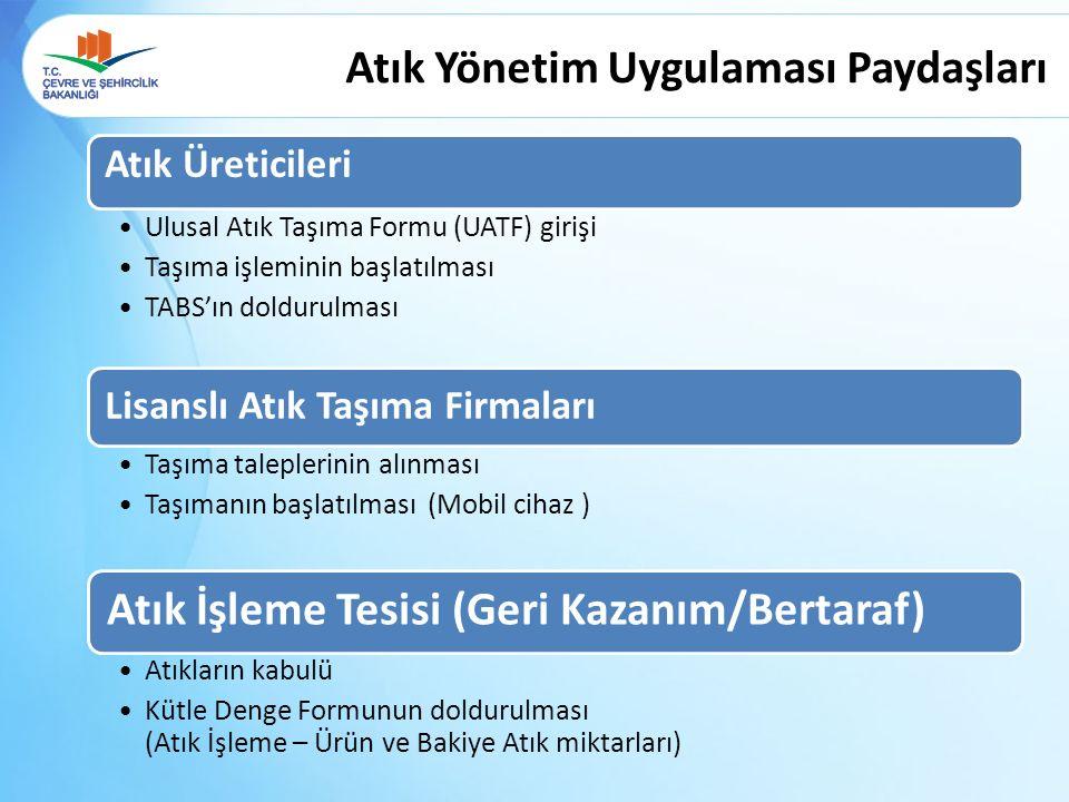 Boş olarak gelen UATF formatındaki form doldurulur.