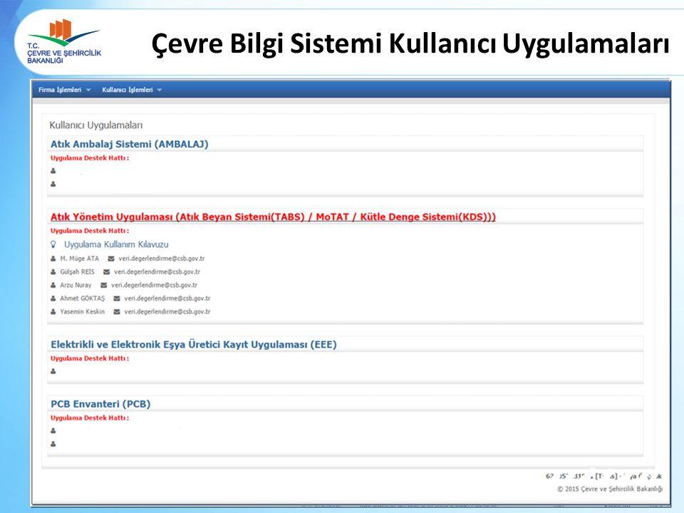 Kütle Denge Sistemi (KDS) Atık İşleme İşlemleri-Ürün Satış