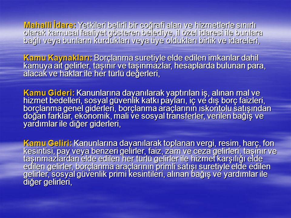 Dış Denetim Sayıştay tarafından yapılacak harcama sonrası dış denetimin amacı, genel yönetim kapsamındaki kamu idarelerinin hesap verme sorumluluğu çerçevesinde, yönetimin mali faaliyet, karar ve işlemlerinin; kanunlara, kurumsal amaç, hedef ve planlara uygunluk yönünden incelenmesi ve sonuçlarının Türkiye Büyük Millet Meclisine raporlanmasıdır.