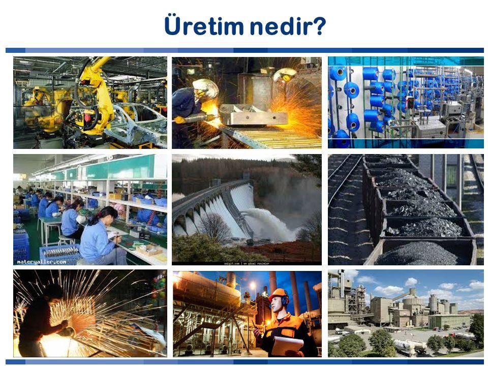Üretim nedir?