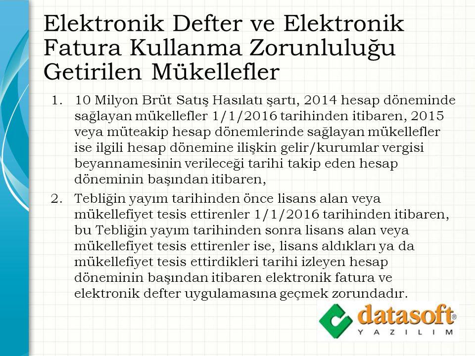 Datasoft e-Defter İmzalama Defter Sekmesinde İmzala: Seçilen ay için Yevmiye Defteri Yevmiye Defteri Beratı Kebir Defteri Kebir Defteri Beratı aynı anda imzalanır.