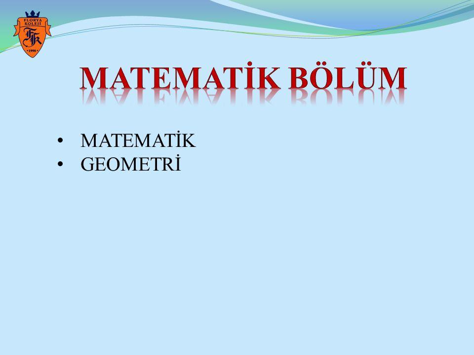 MATEMATİK GEOMETRİ