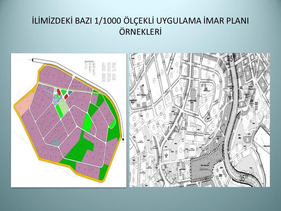 Parça/Bütün Mekansal Strateji Planları Çevre Düzeni Planları Nazım İmar Planları Uygulama İmar Planları Ada/Parsel Yapı