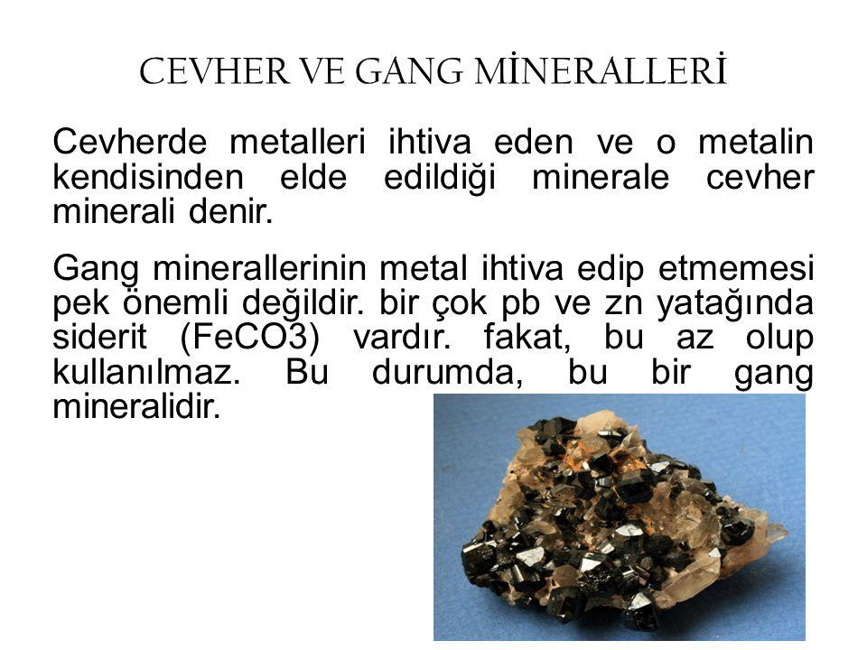 Madenlerin Sınıflandırılması Maden oluşumları; magmatik, metamorfik, sedimenter, biyolojik ve ayrışma olmak üzere kendilerini oluşturan süreçlerin tipine bağlı olarak sınıflandırılabilir.