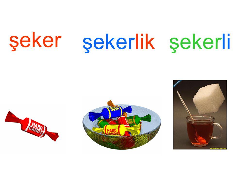 şeker şekerlikşekerli