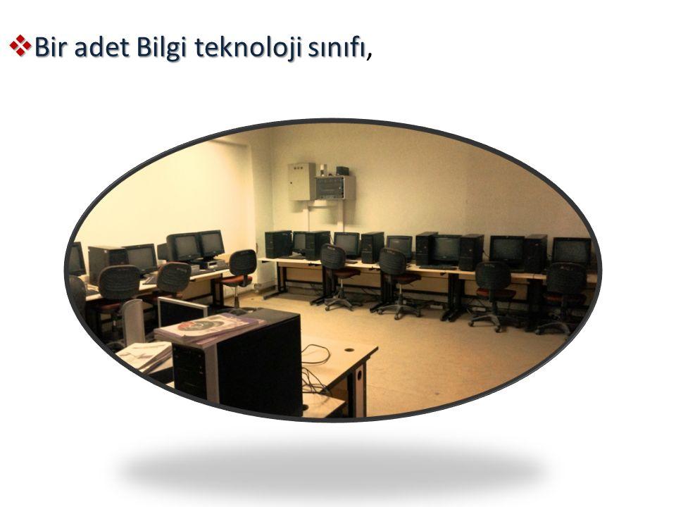 BBBBir adet Bilgi teknoloji sınıfı,