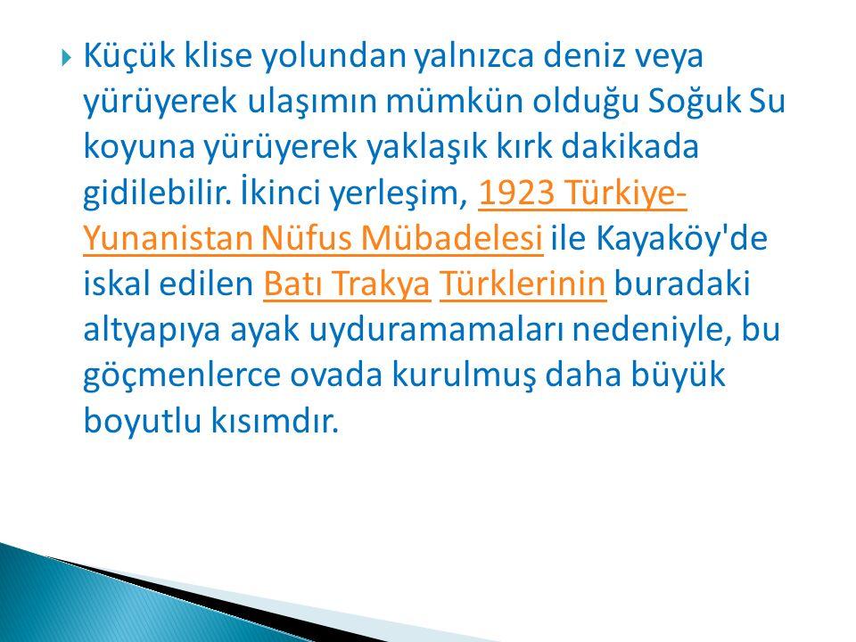  Bunların bir kısmı Mimarlar Odası İstanbul Büyükkent Şubesi nin yayınları ile tanıtılmıştır.