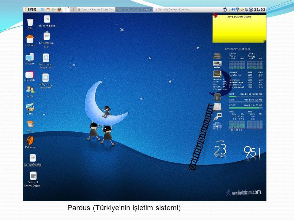 Pardus (Türkiye'nin işletim sistemi)