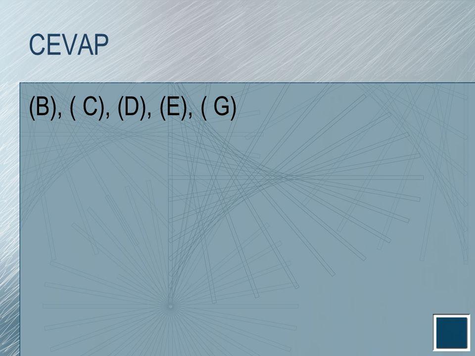 CEVAP (B), ( C), (D), (E), ( G)