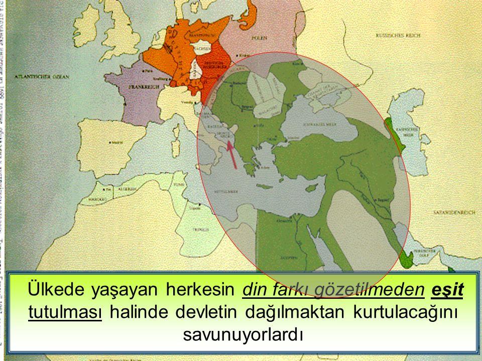 Osmanlıcılık 1 İslamcılık 2 Türkçülük 3 Batıcılık 4 Yüzyıllar boyunca kardeşçe yaşayan bu milletler, Avrupa devletlerinin de kışkırtmaları ile isyanlar çıkarmaya başlamıştır.