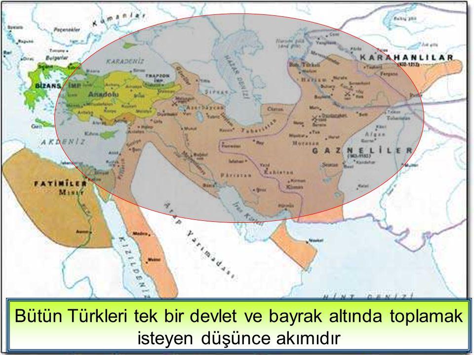 Bütün Müslümanların, Halifenin egemenliği altında toplanmasını amaçlayan bir düşüncedir.