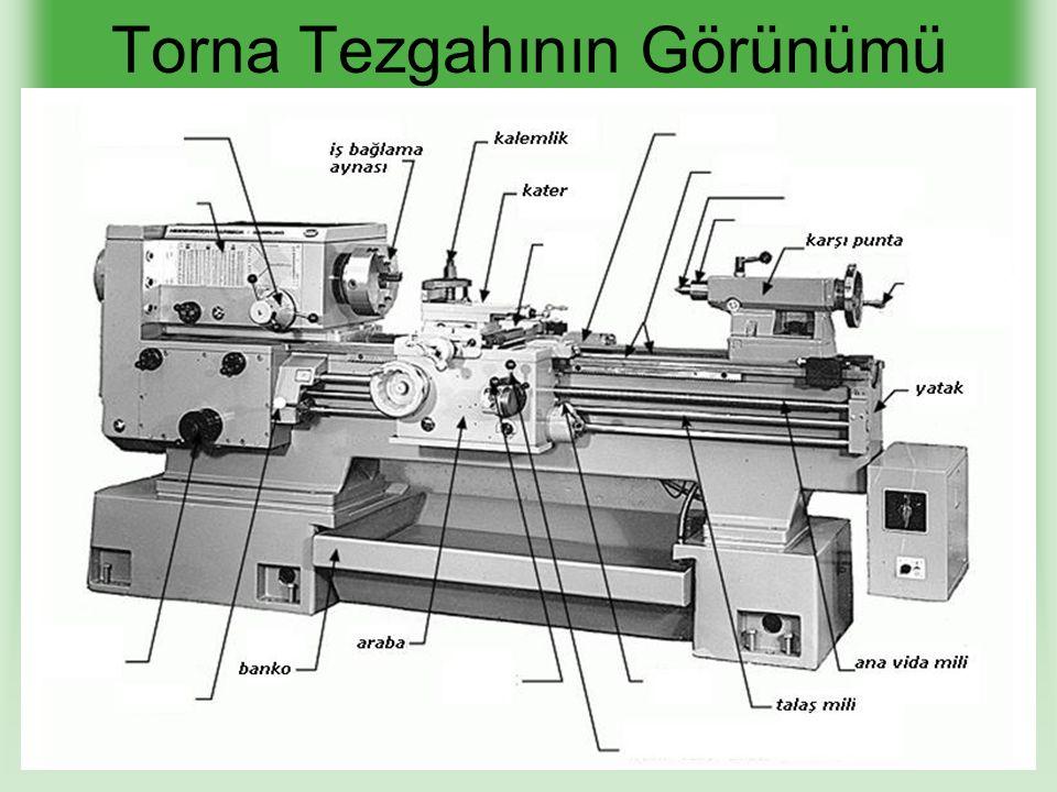 1.Gezer Punta Kaydırma Yöntemi ile Konik Tornalama Olumlu Yanları Olumsuz Yanları Kesicinin otomatik ilerlemesine imkan tanıdığından işlenen yüzey temiz olur Uzun boylu konik iş parçaları rahat torna edilebilir.
