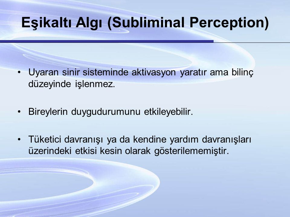 PİSİKOLOJİK İLİZYON Psikolojik illizyon; aynı uyarıcı durumun, farklı kişilerde, farklı şekilde algılanmasıdır.