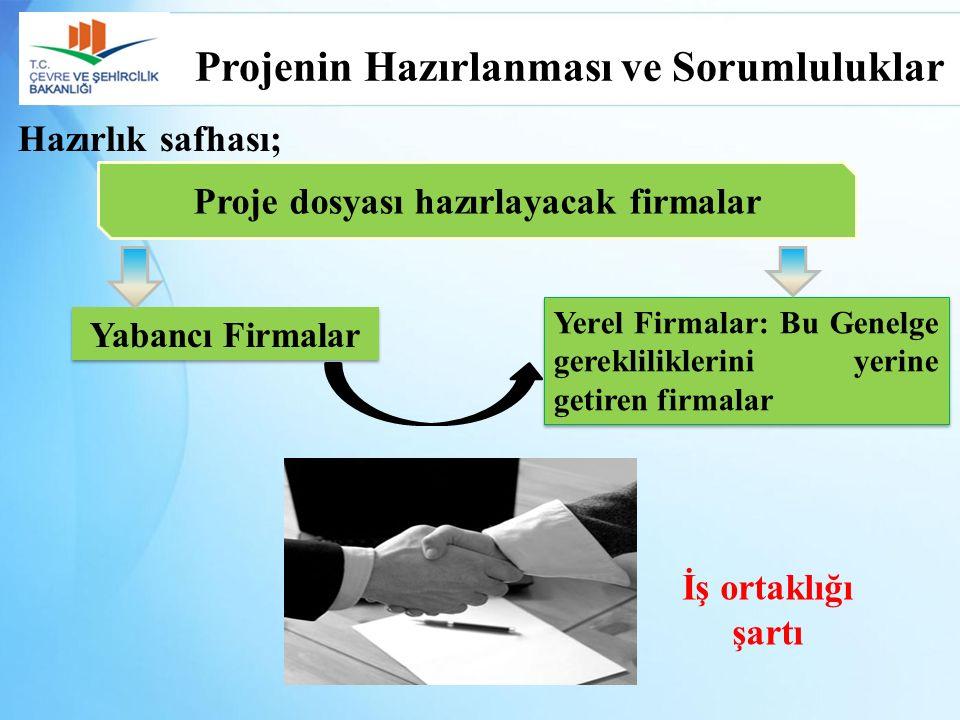 Meslek Dalıİş Deneyimiİstenen BelgelerŞartlar Proje Koordinatörü (Çevre Mühendisi/İnşaat Mühendisi) Atıksu Sektöründe 5 Yıl Deneyim Bakanlık Onaylı En Az 5 Adet EK-3 Formu En Az 3 Adedi Bakanlık Onaylı Toplam 6 Adet EK-3 Formu Bakanlık/İl Müdürlüğü Onaylı 10 Adet EK-3 Formu Diğer Belgeler* (EK-5) Proje Firmasında Tam Zamanlı Çalışıyor Olmak (SGK Dökümü, ticaret sicil gazetesi şirket ortağı vb.) Çevre MühendisiAtıksu Sektöründe 3 Yıl Deneyim Diğer Belgeler*- Çevre Mühendisi-Diğer Belgeler*- Diğer Mühendislik Dalları (İnş.,Kimya vb.) -Diğer Belgeler*İdarenin Uygun Göreceği *Genelgenin EK-5 bölümünde istenen belgeler Proje Dosyası Hazırlayacak Mühendislerin Kriterleri Bakanlığa Sunulacak Dosyalar