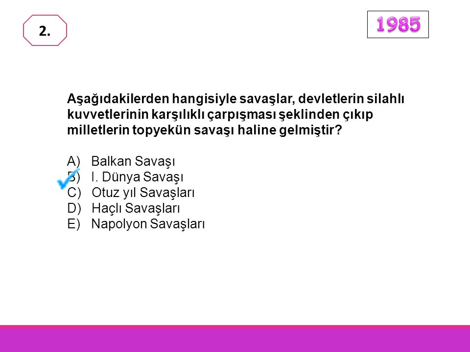 Bazı büyük devletlerin, Osmanlı Devleti'ni de Birinci Dünya Savaşı'na sokmaya çalışmalarında, Osmanlı Devleti'nin hangi özelliği önemli bir etken olmuştur.
