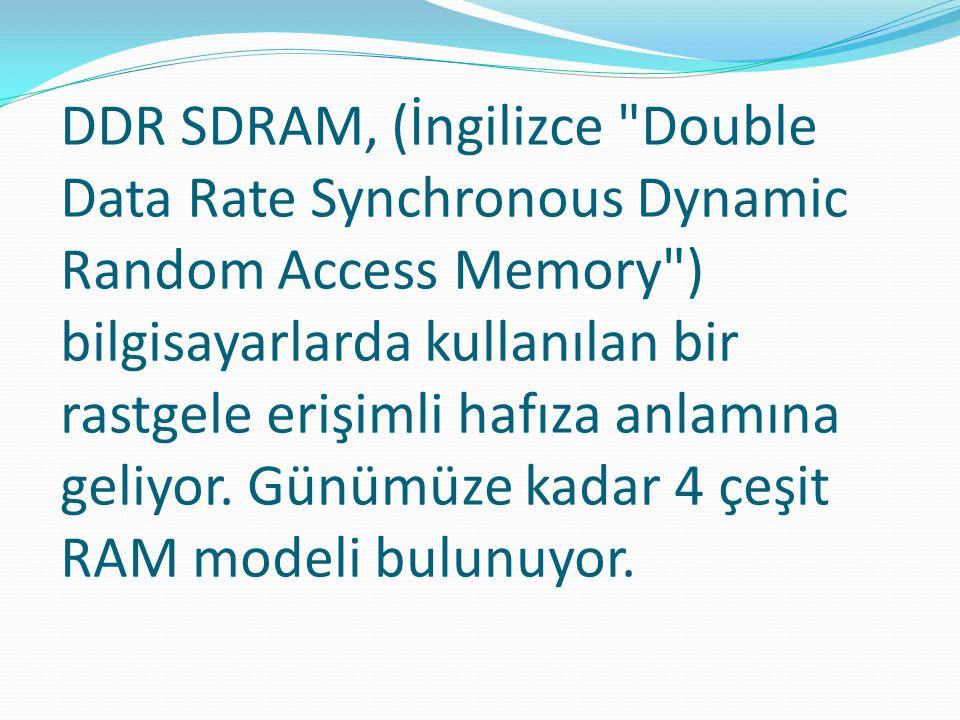 DDR SDRAM, (İngilizce