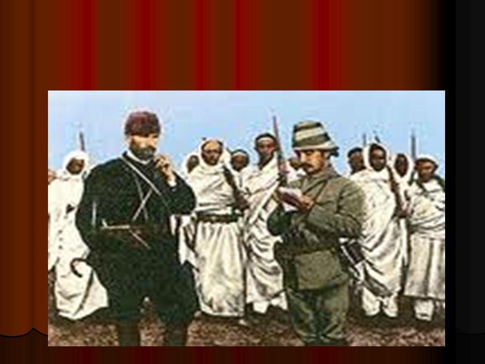 ATATÜRK NE ZAMAN KOMUTAN OLMUŞTUR 10-24 Temmuz 1921 deki Eskişehir-Kütahya Savaşları sonunda alınan yenilgi, Meclis te karamsarlığa neden oldu.