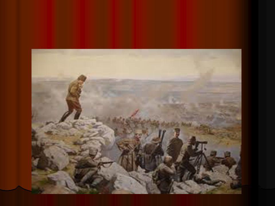ATATÜRK ASKERLİK HAYATINDAKİ BAŞARISINI NEYE BORÇLU Atatürk askerlik hayatındaki başarısını : *Planlı ve düzenli çalışmasına *İyi bir yönetici olmasına *Akıllı olmasına borçludur