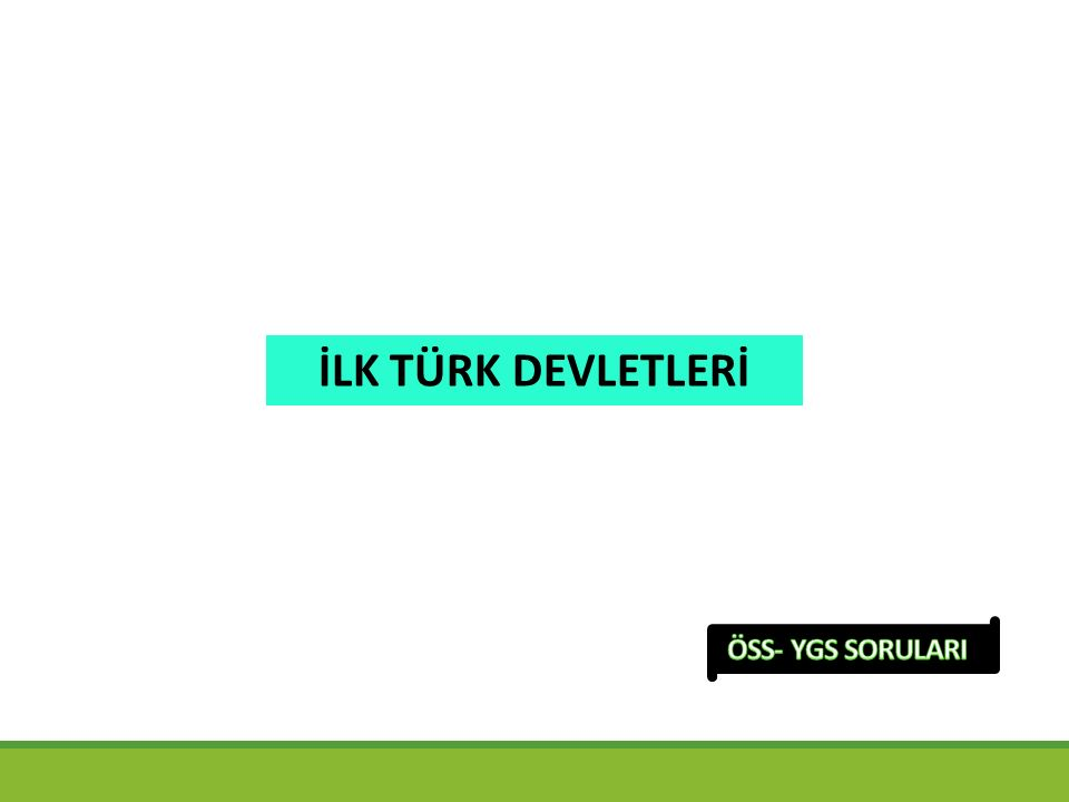 İslamlıktan önceki Türk devletlerinin geleneklerinden bazıları şunlardır.