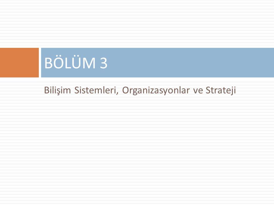 Bilişim Sistemleri, Organizasyonlar ve Strateji BÖLÜM 3