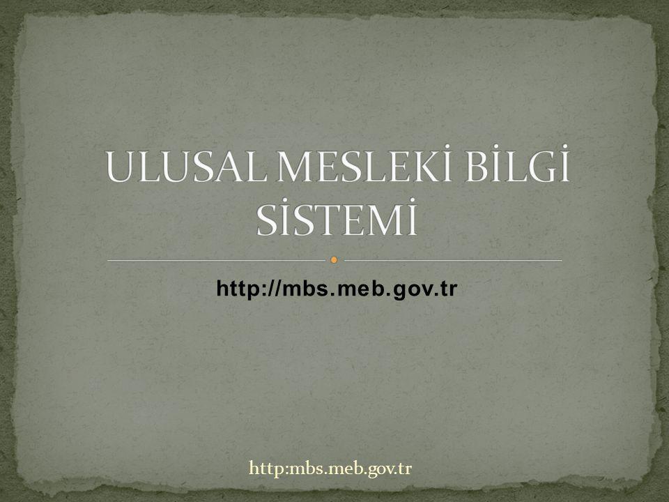 http://mbs.meb.gov.tr http:mbs.meb.gov.tr
