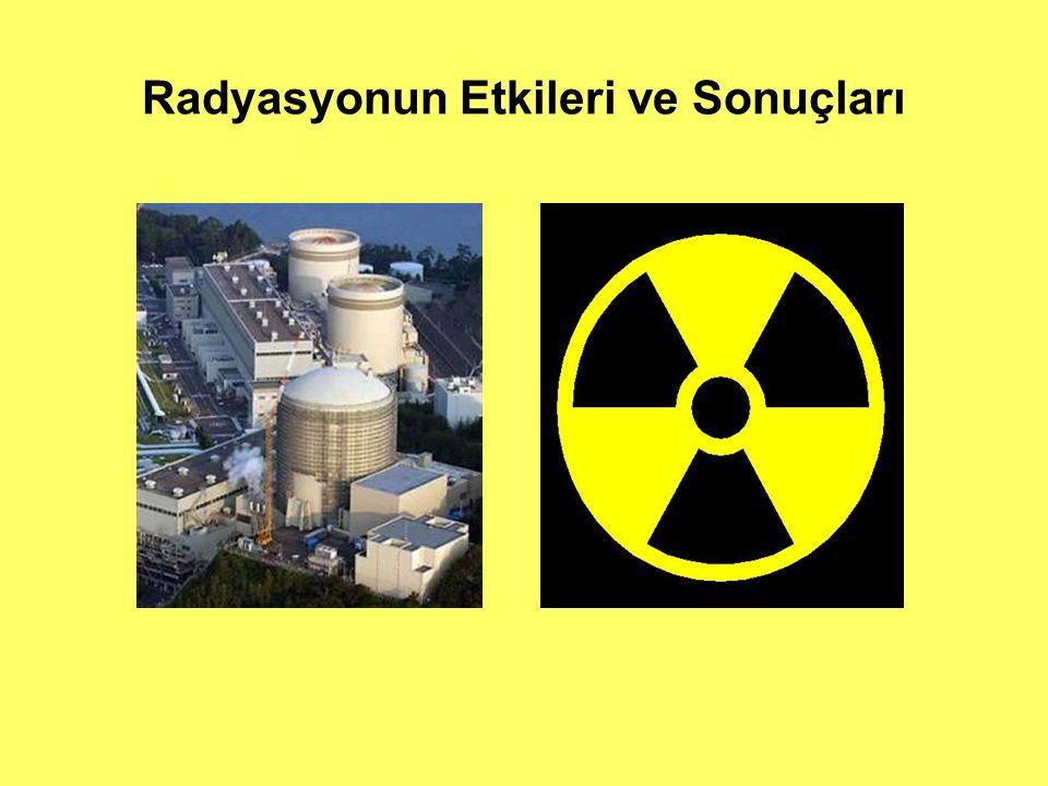 Radyasyon Nerede Bulunur  Ultraviyole Işınları  EMR Nitelikli Radyasyonlar