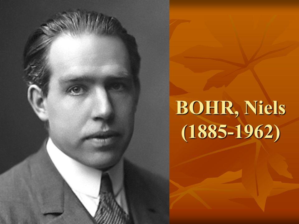 Niels Henrik David Bohr 7 Ekim 1885'te Kopenhag'da doğdu.