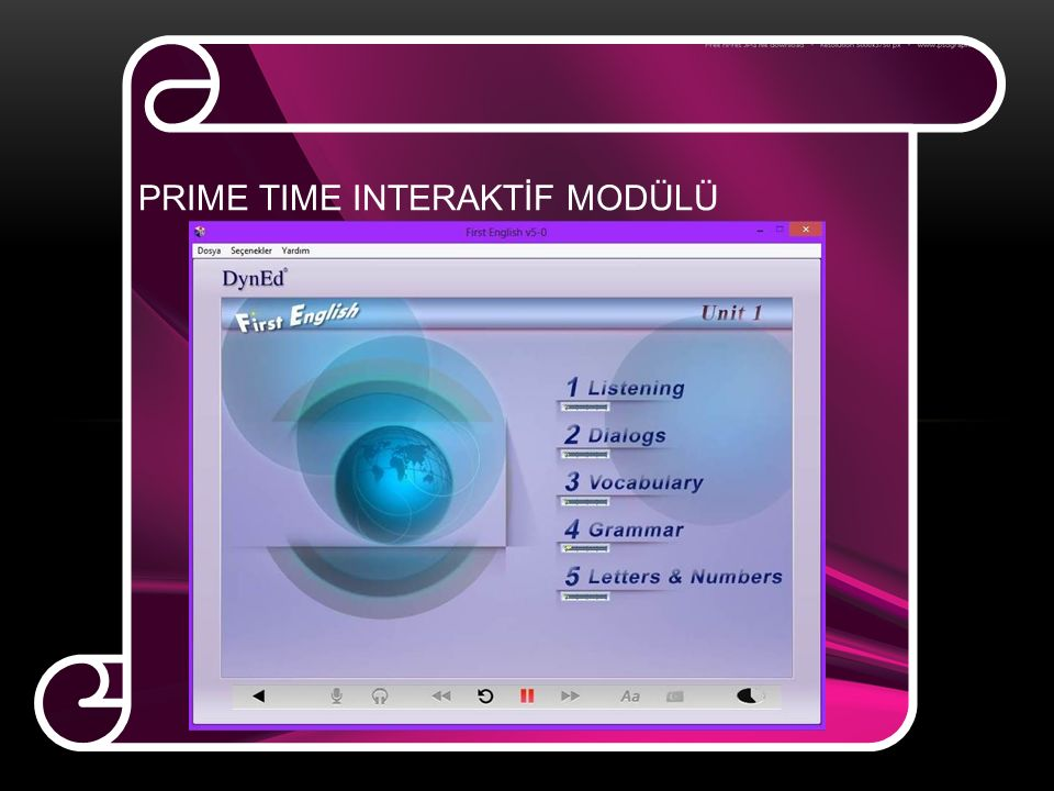 PRIME TIME INTERAKTİF MODÜLÜ