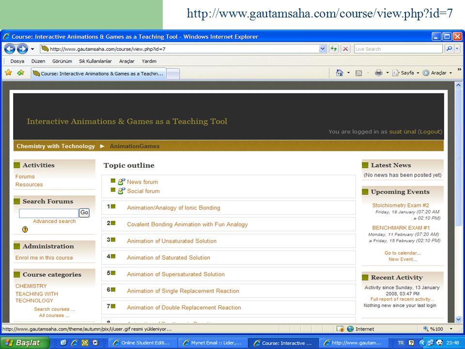 56 http://www.gautamsaha.com/course/view.php?id=7