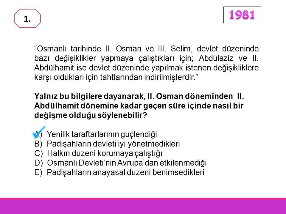 Osmanlı tarihinde II.Osman ve III.