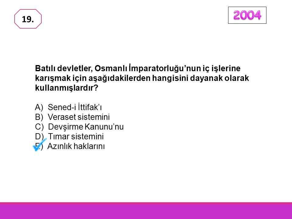 Osmanlı İmparatorluğu'nda, III.Selim, Nizam-ı Cedit hareketini başlatmıştır.