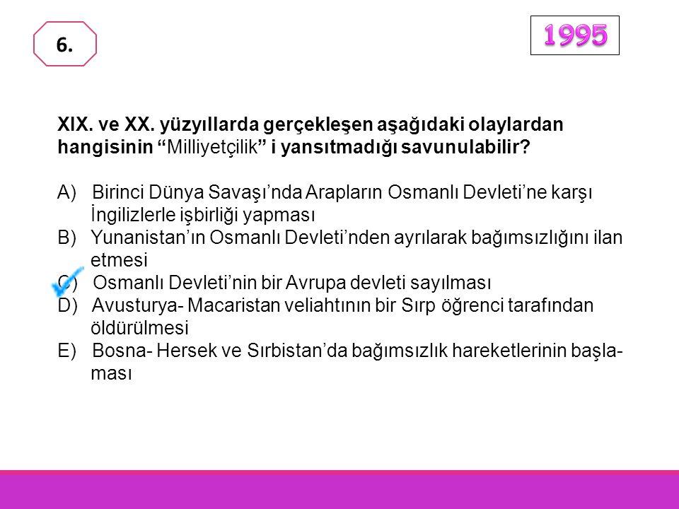 """1876 Anayasası'yla, Müslüman olsun olmasın Osmanlı İmparator- luğu sınırları içinde yaşayanlar din, ırk ve mezhep ayrımı gözetil- meksizin """"Osmanlı"""" s"""