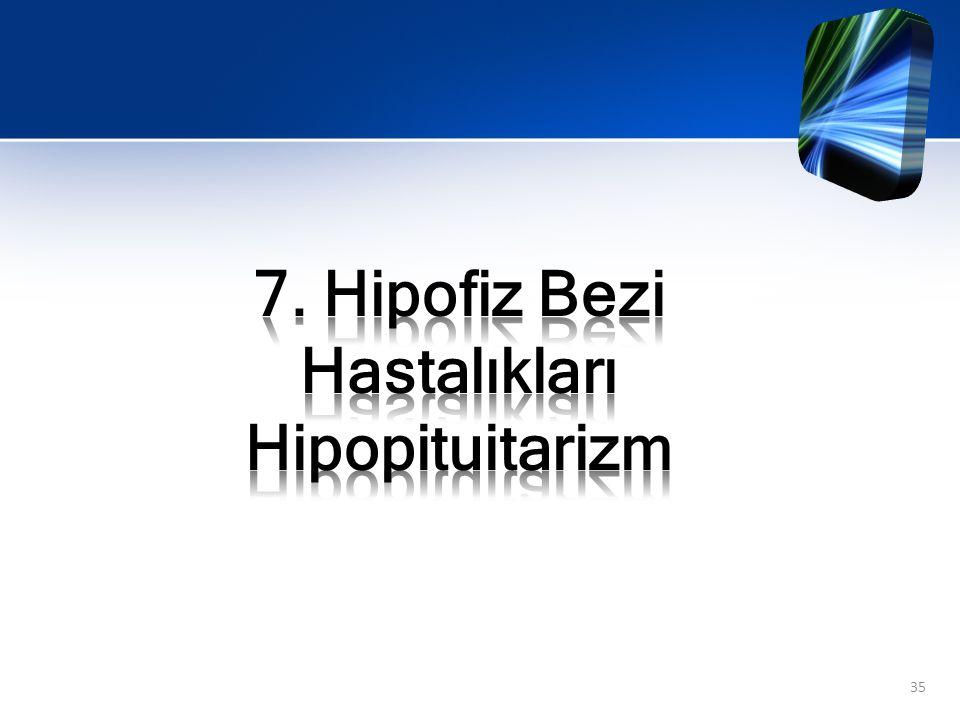 Hipopitüiterizm ön hipofiz hormonlarının bir ya da birden fazlasında azalma görülen nadir bir bozukluktur.