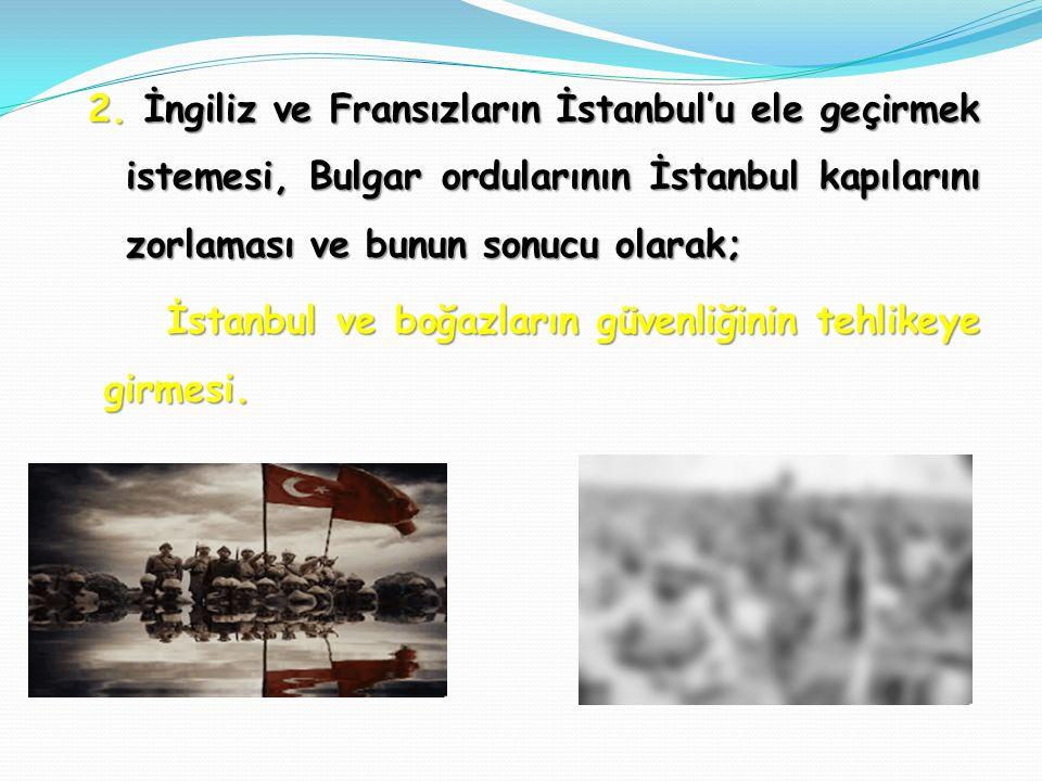 1. 1911-1912 yıllarında Osmanlı Devleti son Afrika toprakları olan Trablusgarp ve Bingazi'yi İtalya'ya bırakmış, 1912-1913 Balkan hezimeti ise, 500 yı