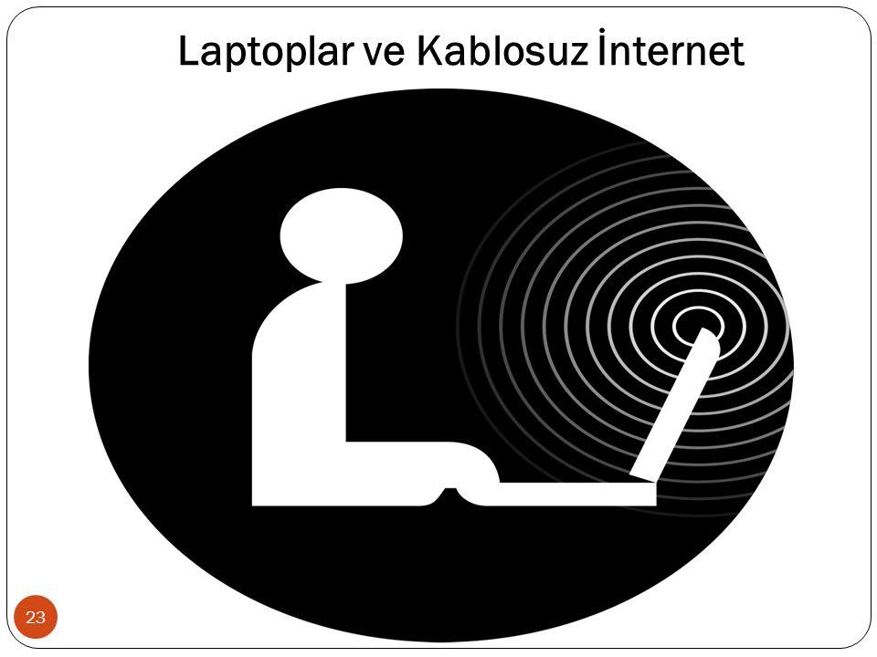 Laptoplar ve Kablosuz İnternet 23