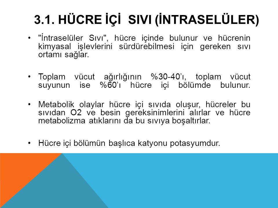 5.HİPERPOTASEMİ SEBEPLERİ 1.