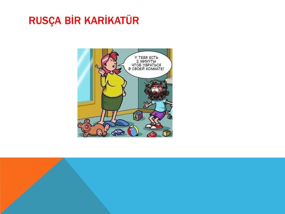 RUSÇA BİR KARİKATÜR