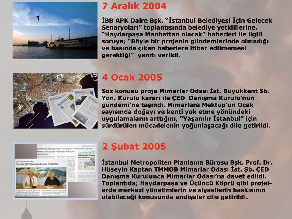 25 Kasım 2011 Haydarpaşa Garı çatısının yanışının birinci yılına 3 gün kala Haydarpaşa Garı, Kadıköy Meydanı ve Harem Otogarının bulunduğu bölgenin kültür, turizm, ticaret alanına dönüştürülmesini amaçlayan 1/5000 Ölçekli Koruma Amaçlı Nazım İmar Planı , İstanbul Büyükşehir Belediye Meclisi'nde oy çokluğunca kabul edilmiştir.