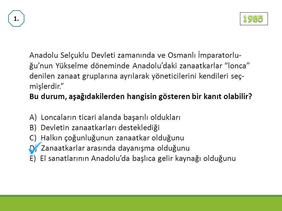 Anadolu Selçuklu Devleti'nde hükümdarların Keyhüsrev, Keykubat ve Keykavus gibi adlar kullanmalarının aşağıdaki- lerden hangisini gösterdiği savunulabilir.