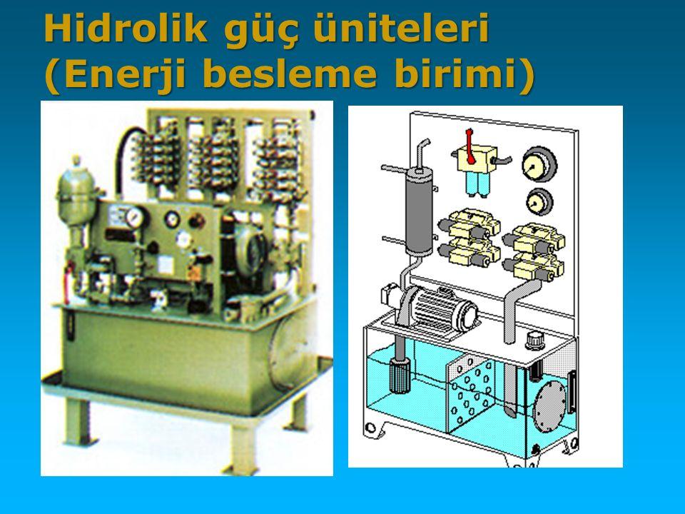Hidrolik güç üniteleri (Enerji besleme birimi)