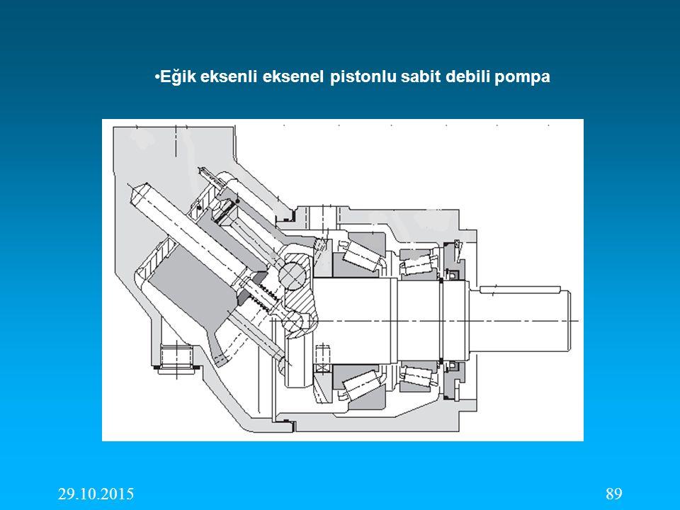 29.10.201589 Eğik eksenli eksenel pistonlu sabit debili pompa