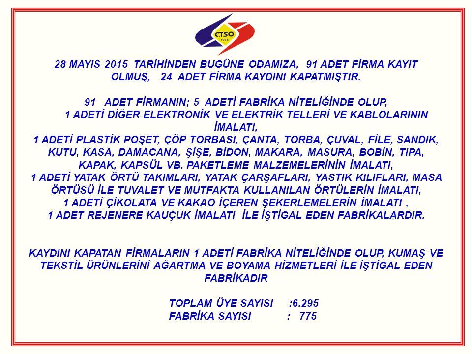 KIRKLARELİ 3.MESLEK KOMİTESİ´NDEN ÇORLU TSO 8.MESLEK KOMİTESİ´NE ZİYARET Kırklareli Ticaret ve Sanayi Odası (Kırklareli TSO) Meclis Başkanı Erdoğan Semerci, 3.Meslek Komite Başkanı Serhad Güney, Başkan Yardımcısı Şükriye Alkan, Meslek Komite Üyeleri; Atilla Akın, Yavuz Beğeçarslan ve Şevket Başgelen den oluşan Kırklareli TSO 3.