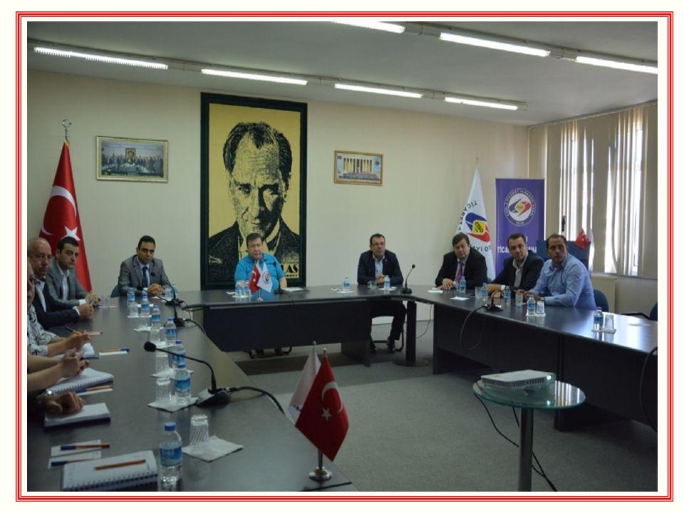 BULGARİSTAN TUNAHAN DERNEK BAŞKANI´NDAN ENİS SÜLÜN´E ZİYARET Bulgaristan Dulovo da kurulan Tunahan Derneği nin Başkanı Güner Hakkı, 27 Mayıs 2015 Çarşamba günü Odamız Yönetim Kurulu Başkanı Enis Sülün ü makamında ziyaret etti.