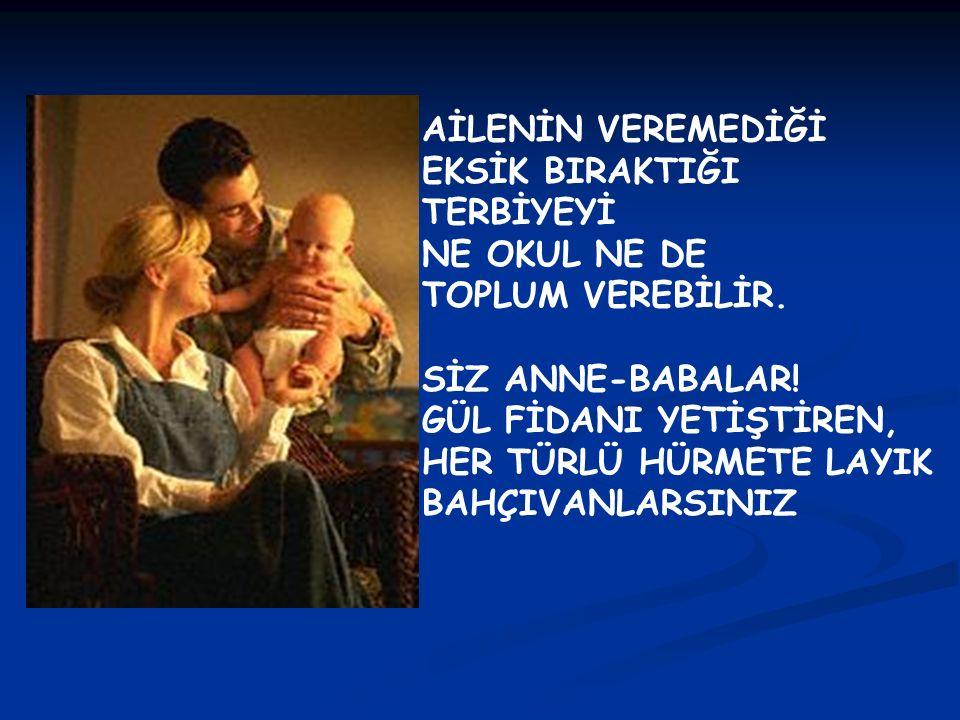 HANGİMİZ ANNE-BABA OLMA ADINA ÖZEL EĞİTİM ALDIK