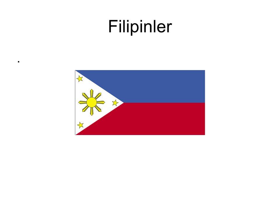 Filipinler.