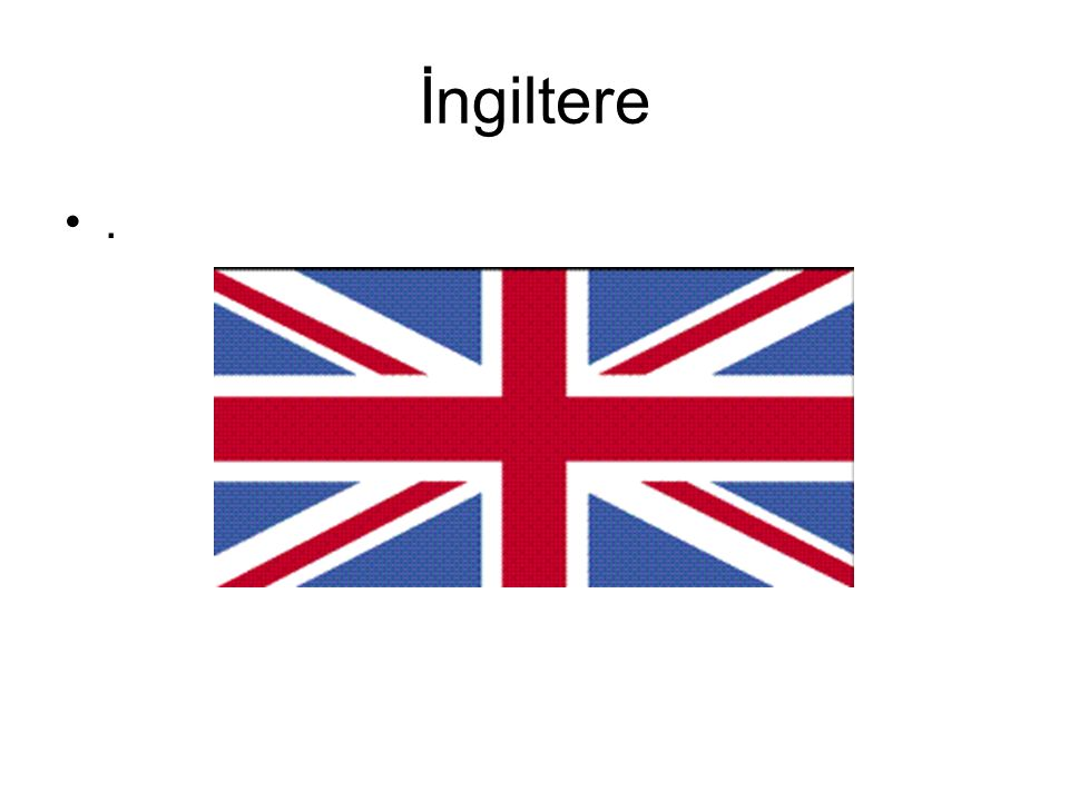İngiltere.