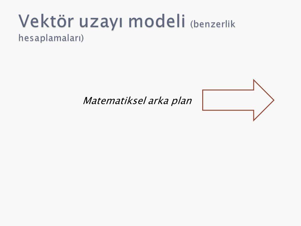 Matematiksel arka plan