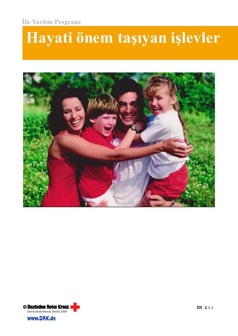 İlk-Yardım-Programı Hayati önem taşıyan işlevler